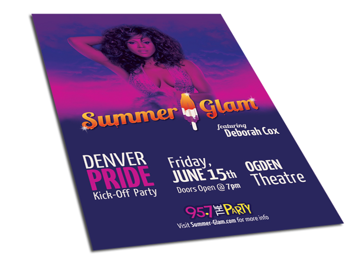 Summer Glam Poster