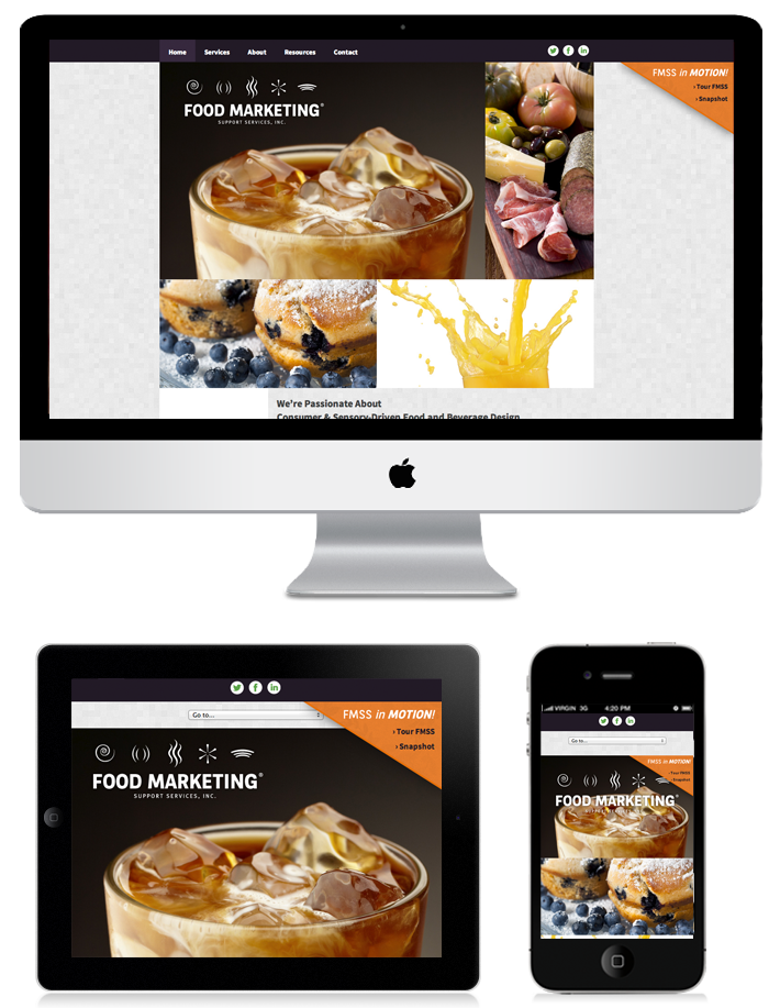 Food Marketing Support Services Website