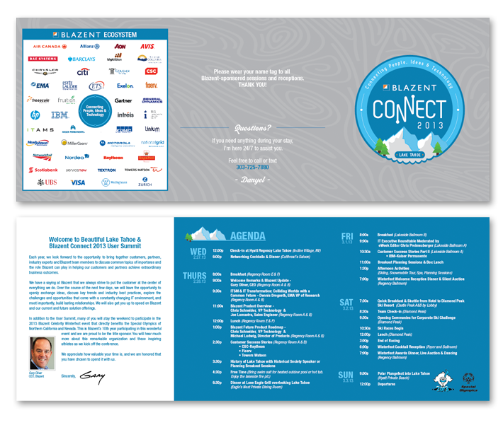 6 Panel Blazent CONNECT Brochure
